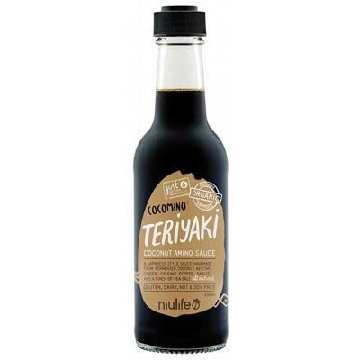 Coconut Teriyaki Sauce 250ml - NIULIFE