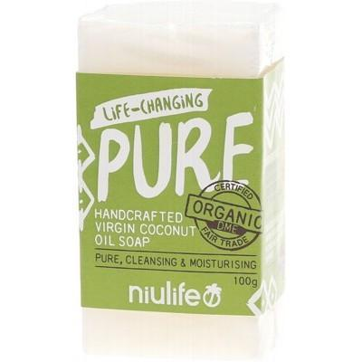 Unscented Coconut Soap 100g - NIULIFE