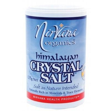 Medium Himalayan Salt 125g - NIRVANA ORGANICS