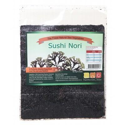 Sushi Nori 10 Sheets 25g - NUTRITIONIST CHOICE