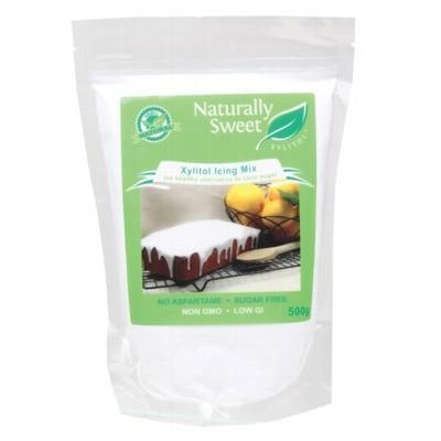Xylitol Icing Sugar 500g - NATURALLY SWEET