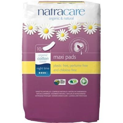 Night Time Pads 10 pack - NATRACARE