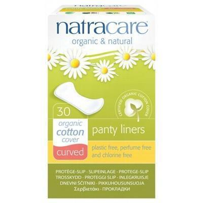 Curved Panty Liners 30 pack - NATRACARE