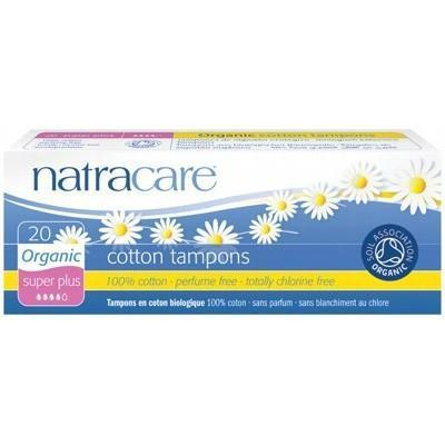 Super Plus Tampons 20 pack - NATRACARE