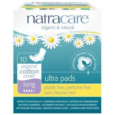 Long Ultra Wings Pads 10 pack - NATRACARE