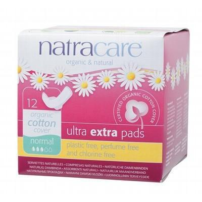 Ultra Extra Pads Wings Normal 12 - NATRACARE