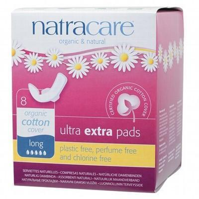 Ultra Extra Pads Wings Long 8 - NATRACARE