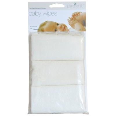 Cloth Baby Wipes 3 pack - NATURE'S CHILD