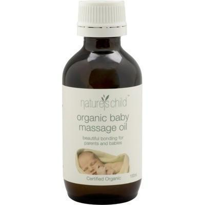 Baby Massage Oil 100ml - NATURE'S CHILD