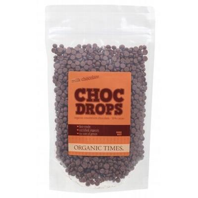 Milk Chocolate Drops 500g - ORGANIC TIMES