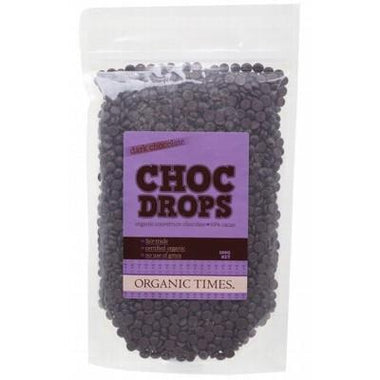Dark Chocolate Drops 500g - ORGANIC TIMES
