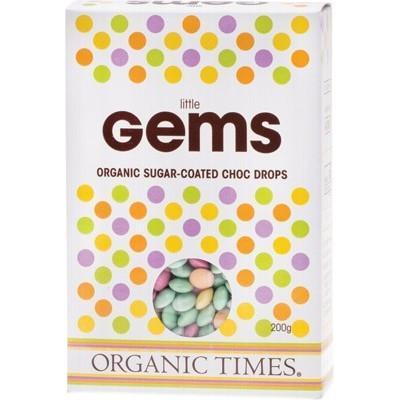 Chocolate Gems 200g - ORGANIC TIMES