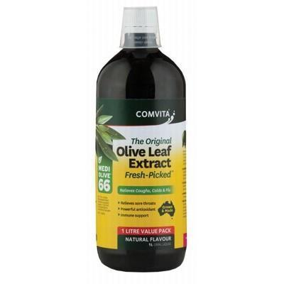 Olive Leaf Extract Natural 1L - COMVITA - OLIVE LEAF EXTRACT