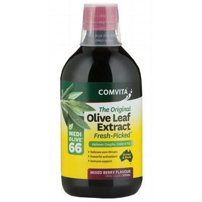 Berry Olive Leaf Extract 500ml - COMVITA - OLIVE LEAF EXTRACT