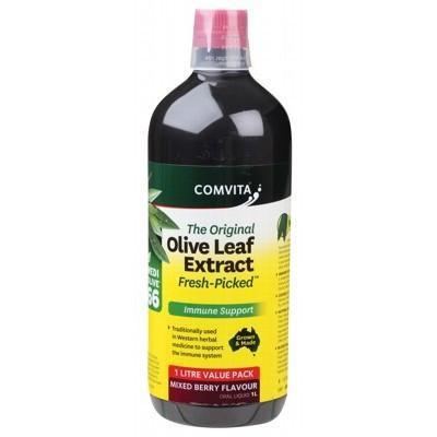 Berry Olive Leaf Extract 1L - COMVITA - OLIVE LEAF EXTRACT