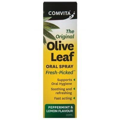 Olive Leaf Oral Spray 20ml - COMVITA - OLIVE LEAF EXTRACT