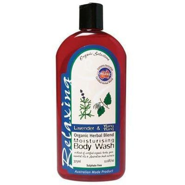 Lavender Body Wash 375ml - ORGANIC SELECTIONS