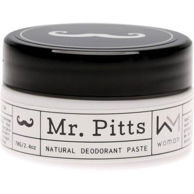 Woman Natural Deodorant Paste 70g - MR PITTS
