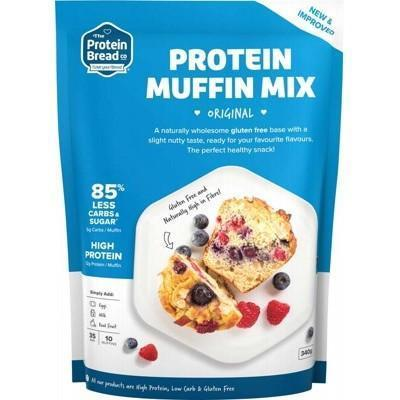 Protein Muffin Mix 340g - THE PROTEIN BREAD CO.
