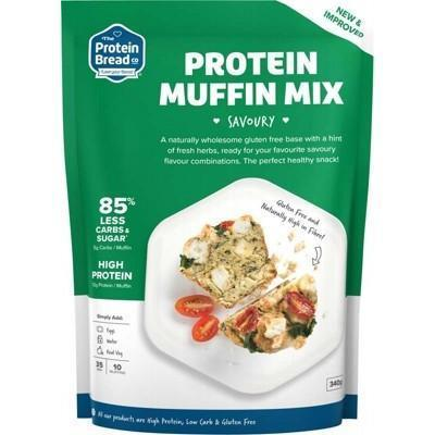 Protein Muffin Savoury 340g - THE PROTEIN BREAD CO.