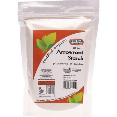Arrowroot Starch 500g - PURE FOOD ESSENTIALS