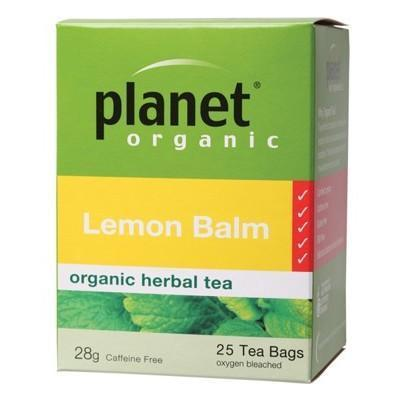Lemon Balm Tea Bags 25 bags - PLANET ORGANIC