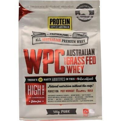 Whey Protein Concentrate 500g - PROTEIN SUPPLIES AUST.