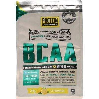 BCAA Lemonade 200g - PROTEIN SUPPLIES AUST.