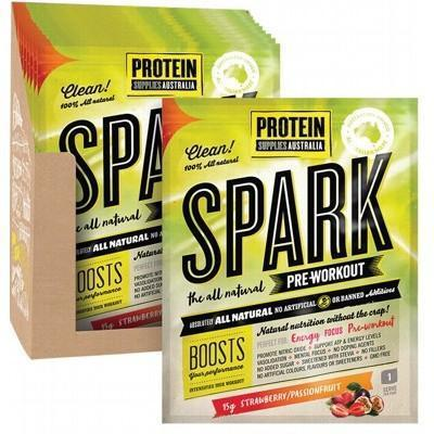 Spark Strawberry Passionfruit Sachets 16x15g - PROTEIN SUPPLIES AUST.