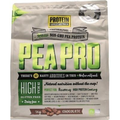 Choc Pea Protein Isolate 1kg - PROTEIN SUPPLIES AUST.