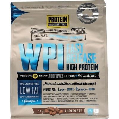 WPI Chocolate 1kg - PROTEIN SUPPLIES AUST.