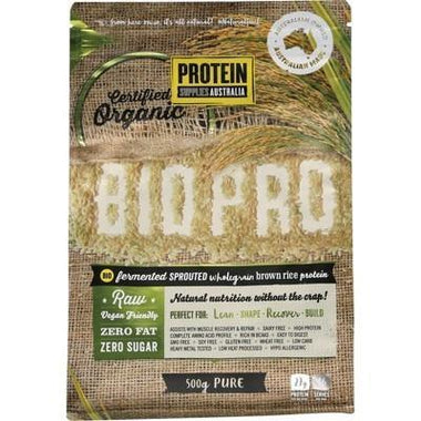 Sprouted Rice Protein 500g - PROTEIN SUPPLIES AUST.