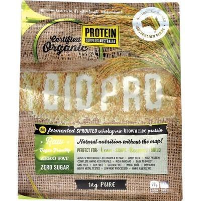 Sprouted Rice Protein 1kg - PROTEIN SUPPLIES AUST.