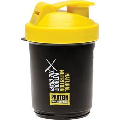 Multi Compartment Shaker 400ml - PROTEIN SUPPLIES AUST.