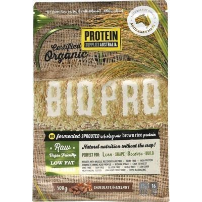 Choc Hzlnut Brown Rice Protein 500g - PROTEIN SUPPLIES AUST.