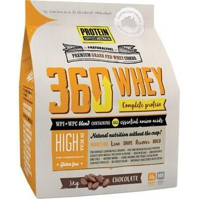 360 Whey Chocolate 3kg - PROTEIN SUPPLIES AUST.