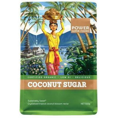 Coconut Palm Sugar 500g - POWER SUPER FOODS