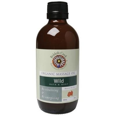 Wild Massage Oil 200ml - RIDDELLS CREEK