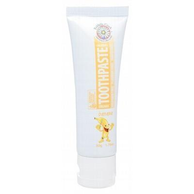 Kids Toothpaste Banana 50g - RIDDELLS CREEK