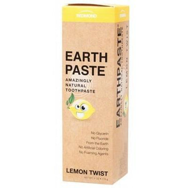 Toothpaste Lemon Twist 113g - REDMOND EARTHPASTE
