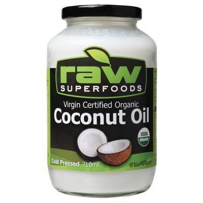 Coconut Oil 710ml - RAW SUPERFOODS