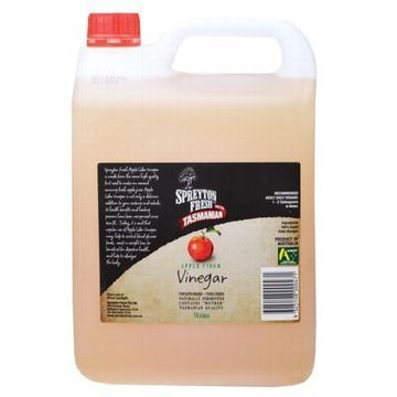 Apple Cider Vinegar Unpasteurised & Unfiltered 5L