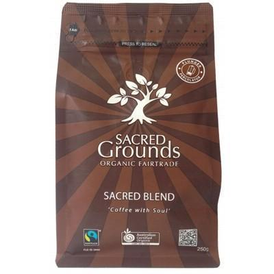 Coffee For Plunger 250g - SACRED GROUNDS