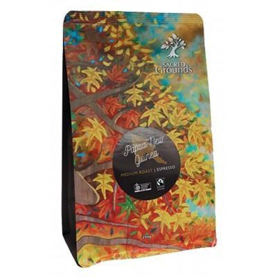 PNG Coffee For Espresso 250g - SACRED GROUNDS