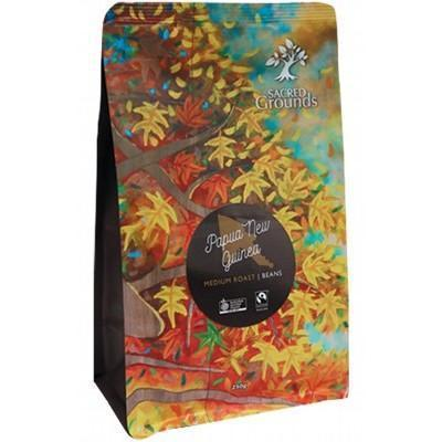 PNG Coffee Beans 250g - SACRED GROUNDS