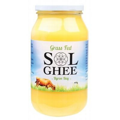 Grass Fed Ghee 450g - SOL GHEE