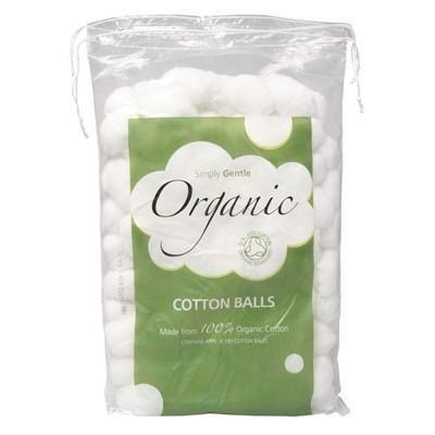 Cotton Balls 100 pack - SIMPLY GENTLE