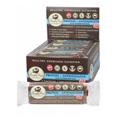 Protein And Antioxidants 20 x 50g - SIMPLY RAW