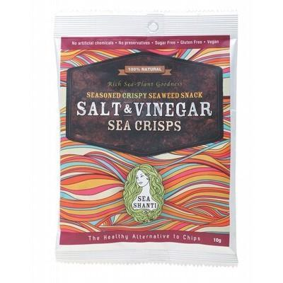 Sea Crisps Salt & Vinegar 10g - SEA SHANTI