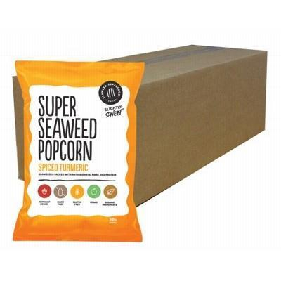 Spiced Turmeric 12x50g - SEAWEED SUPERFOOD CO.